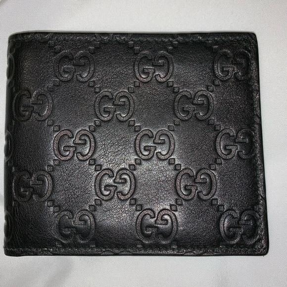e09e294e96a2 Gucci Bags | Black Mens Wallet 100 Authentic | Poshmark